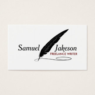 AUTHORS & WRITERS Business Card