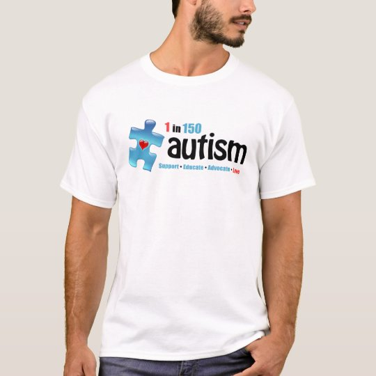 Autism 1 in 150 (b1) T-Shirt