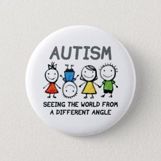 Autism 6 Cm Round Badge