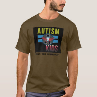 'Autism A Kids' Mens Value T-Shirt *