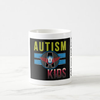 Autism A Kids White 325 ml Classic White Mug* Coffee Mug