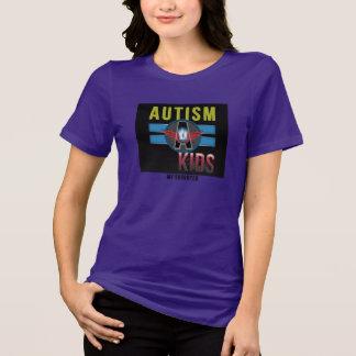Autism A Kids Women's Bella Plus Size Jersey Tee* T-Shirt