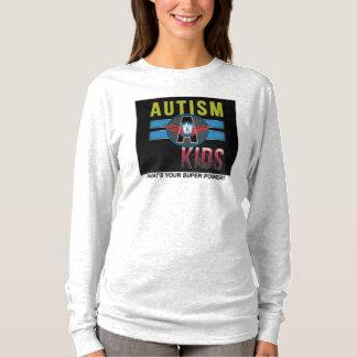 'Autism A Kids' Womens Hanes Long Sleeve T-Shirt* T-Shirt
