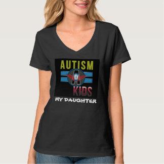 Autism A Kids Women's Hanes Nano V-Neck T-Shirt* T-Shirt
