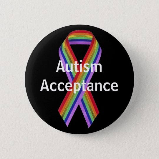Autism Acceptance Button