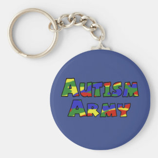 Autism Army Key chain