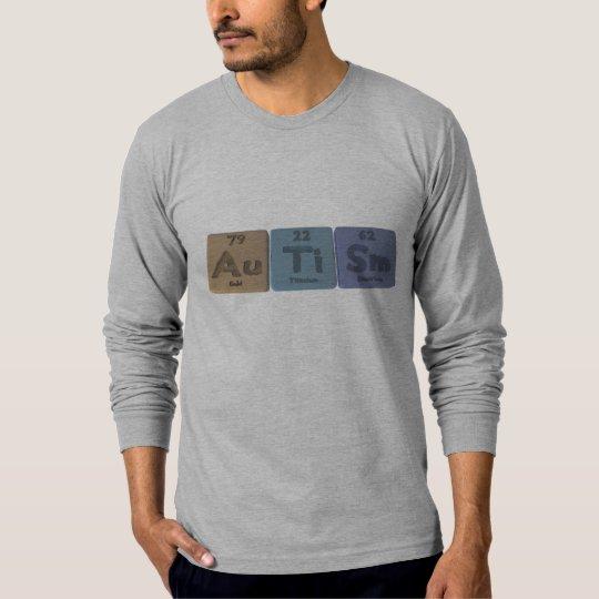 Autism-Au-Ti-Sm-Gold-Titanium-Samarium T-Shirt