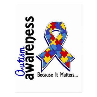 Autism Awareness 5 Postcard