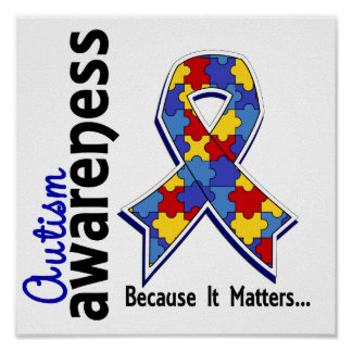 Autism Awareness 5 Posters