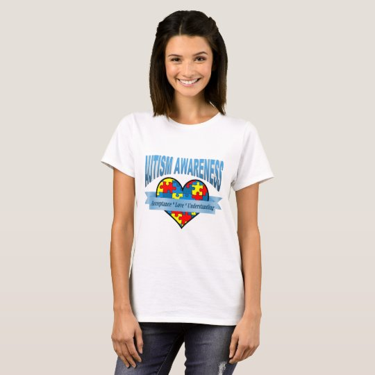Autism Awareness Acceptance Love Understanding T-Shirt