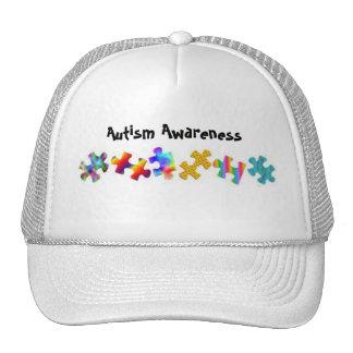 Autism Awareness (All White) Cap