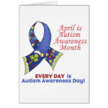Autism Awareness April and Every Day Greeting Card