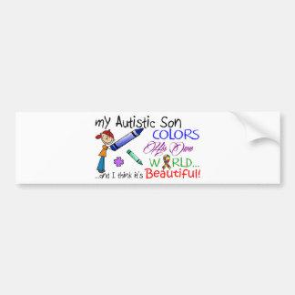 Autism Awareness - Awesome Son! Car Bumper Sticker