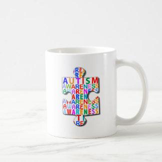 Autism Awareness Basic White Mug
