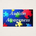 Autism Awareness Behaviour Information Card