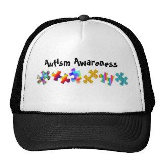Autism Awareness (Black/White) Hat