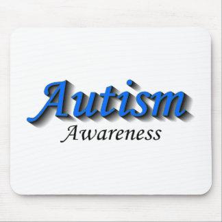 Autism Awareness (Blue/Blk) Mouse Pad