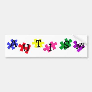 Autism Awareness Bumper Sticker Car Bumper Sticker