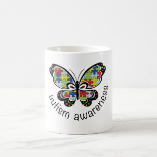 Autism Awareness Butterfly Mug