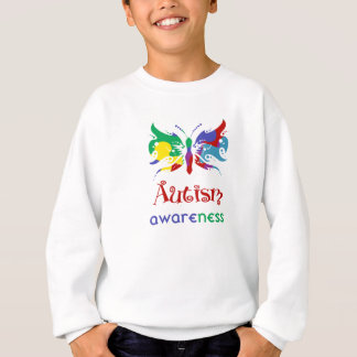 Autism Awareness Butterfly Sweatshirt