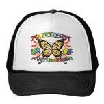 Autism Awareness Butterfly Trucker Hats
