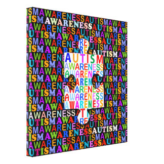 Autism Awareness Canvas Print