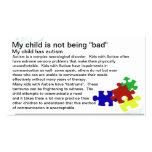 Autism Awareness card Pack Of Standard Business Cards