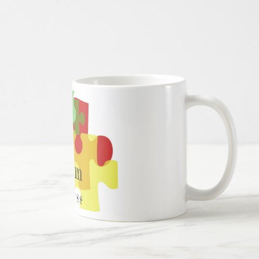 Autism Awareness Classic White Coffee Mug