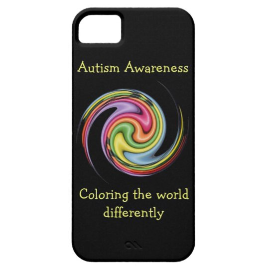 Autism Awareness Colouring World iPhone 5 Case