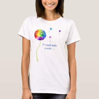 Autism Awareness Dandelion Wishes T-Shirt