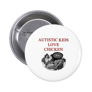 autism awareness design what autistic kids love pinback buttons