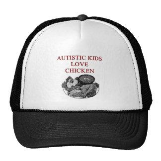 autism awareness design what autistic kids love cap