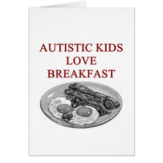 autism awareness design what autistic kids love greeting cards