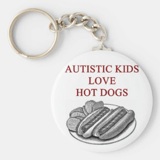 autism awareness design what autistic kids love keychain