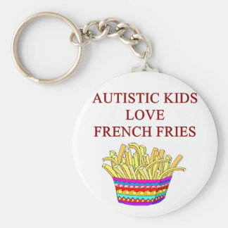 autism awareness design what autistic kids love keychains