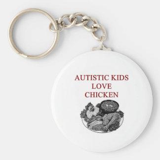 autism awareness design what autistic kids love key ring