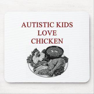 autism awareness design what autistic kids love mouse mat
