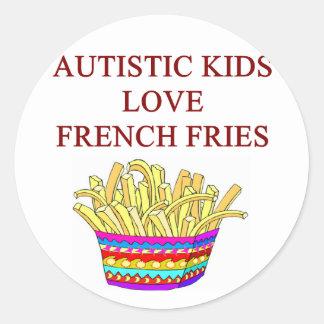 autism awareness design what autistic kids love stickers