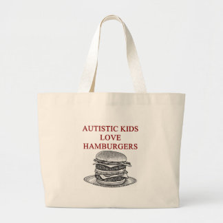 autism awareness design what autistic kids love canvas bag