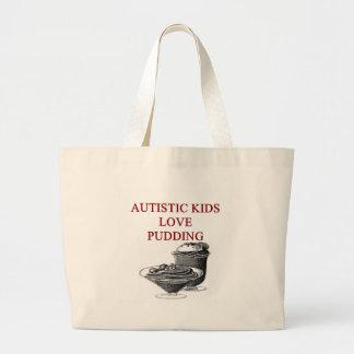 autism awareness design what autistic kids love tote bag