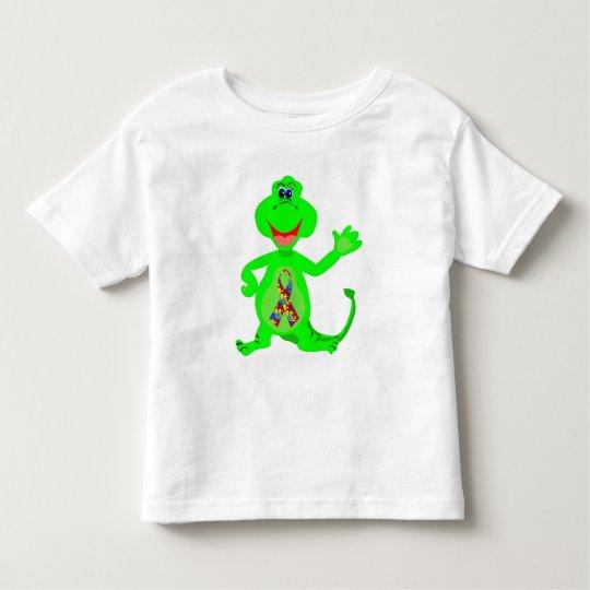 Autism Awareness Dinosaur Toddler T-Shirt