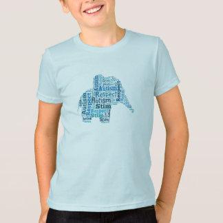 Autism Awareness Elephant T-Shirt Children's
