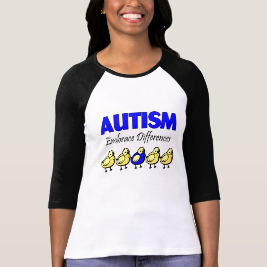 Autism Awareness Embrace Differences T-Shirt