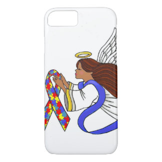 Autism Awareness Ethnic Angel iPhone 8/7 Case