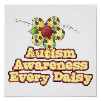 Autism Awareness Every Daisy (Day) Poster