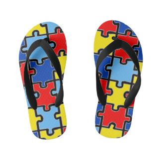 Autism Awareness Flip-Flops Flip Flops
