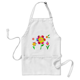 Autism Awareness Flowers Standard Apron