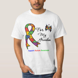 Autism Awareness For My Grandson T-Shirt