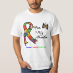 Autism Awareness For My Grandson Tshirts