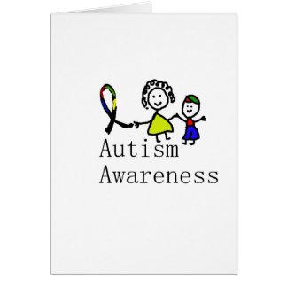 Autism Awareness Friends Card